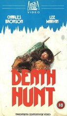Death Hunt - British VHS movie cover (xs thumbnail)