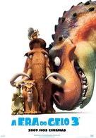Ice Age: Dawn of the Dinosaurs - Brazilian Movie Poster (xs thumbnail)