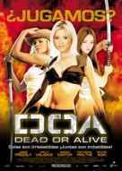 Dead Or Alive - Spanish Movie Poster (xs thumbnail)