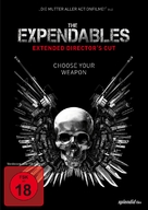 The Expendables - German DVD cover (xs thumbnail)