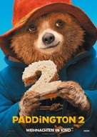 Paddington 2 - German Movie Poster (xs thumbnail)