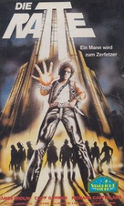 Night of the Juggler - German VHS movie cover (xs thumbnail)