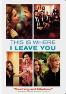 This Is Where I Leave You - DVD cover (xs thumbnail)