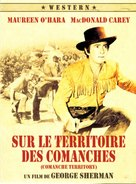 Comanche Territory - French Movie Cover (xs thumbnail)