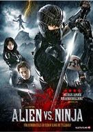 Alien vs. Ninja - Swedish DVD movie cover (xs thumbnail)