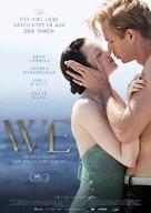 W.E. - German Movie Poster (xs thumbnail)