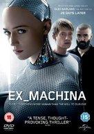 Ex Machina - British DVD movie cover (xs thumbnail)