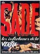 Marquis de Sade: Justine - French Movie Poster (xs thumbnail)