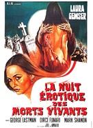 Le notti erotiche dei morti viventi - French Movie Poster (xs thumbnail)