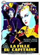 La figlia del capitano - French Movie Poster (xs thumbnail)