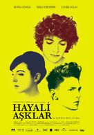 Les amours imaginaires - Turkish Movie Poster (xs thumbnail)
