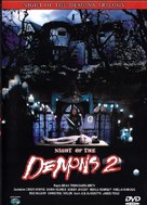 Night of the Demons 2 - German DVD cover (xs thumbnail)