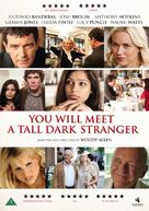 You Will Meet a Tall Dark Stranger - Danish DVD movie cover (xs thumbnail)