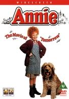 Annie - British DVD cover (xs thumbnail)