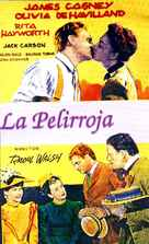 The Strawberry Blonde - Spanish Movie Poster (xs thumbnail)