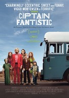 Captain Fantastic - Swiss Movie Poster (xs thumbnail)
