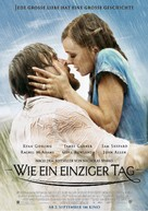 The Notebook - German Advance movie poster (xs thumbnail)