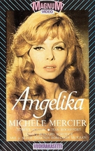 Angélique, marquise des anges - Finnish VHS movie cover (xs thumbnail)