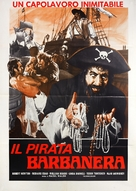 Blackbeard, the Pirate - Italian Movie Poster (xs thumbnail)