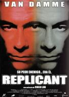 Replicant - Spanish Movie Poster (xs thumbnail)