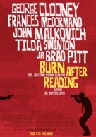 Burn After Reading - Finnish Movie Poster (xs thumbnail)