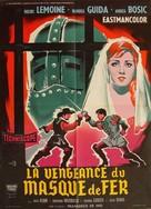 La vendetta della maschera di ferro - French Movie Poster (xs thumbnail)