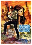 Un minuto per pregare, un instante per morire - Spanish Movie Poster (xs thumbnail)