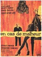 En cas de malheur - French Movie Poster (xs thumbnail)
