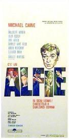 Alfie - Italian Movie Poster (xs thumbnail)