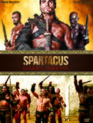 """Spartacus: Gods of the Arena"" - DVD cover (xs thumbnail)"