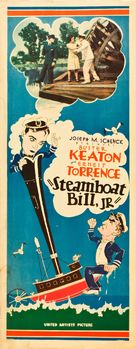Steamboat Bill, Jr. - Movie Poster (xs thumbnail)