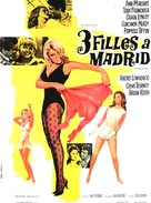 The Pleasure Seekers - French Movie Poster (xs thumbnail)