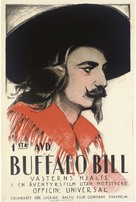 In the Days of Buffalo Bill - Swedish Movie Poster (xs thumbnail)