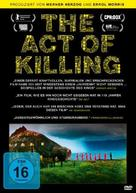 The Act of Killing - German DVD cover (xs thumbnail)