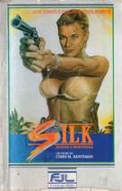 Silk - Brazilian VHS movie cover (xs thumbnail)