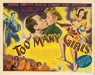 Too Many Girls - Movie Poster (xs thumbnail)
