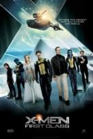 X-Men: First Class - Danish Movie Poster (xs thumbnail)