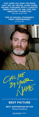 Call Me by Your Name - For your consideration poster (xs thumbnail)