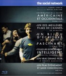 The Social Network - French Blu-Ray movie cover (xs thumbnail)