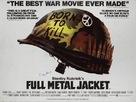 Full Metal Jacket - British Movie Poster (xs thumbnail)