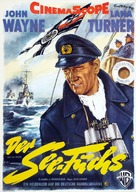 The Sea Chase - German Movie Poster (xs thumbnail)