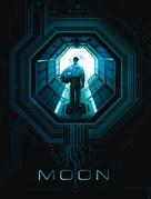 Moon - Czech Blu-Ray movie cover (xs thumbnail)