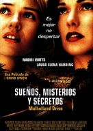 Mulholland Dr. - Mexican Movie Poster (xs thumbnail)