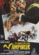 Dance of the Vampires - Spanish Movie Poster (xs thumbnail)