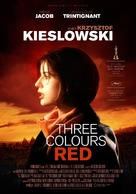 Trois couleurs: Rouge - Swedish Re-release poster (xs thumbnail)