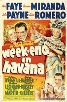 Week-End in Havana - Movie Poster (xs thumbnail)