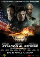 Olympus Has Fallen - Italian Movie Poster (xs thumbnail)