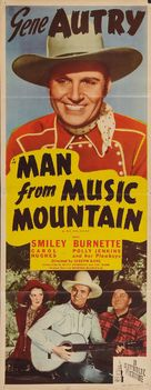 Man from Music Mountain - Movie Poster (xs thumbnail)