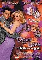 Down with Love - German Movie Poster (xs thumbnail)