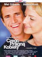What Women Want - Polish Movie Poster (xs thumbnail)